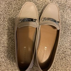 Coach Loafer Boat Shoes in Grey